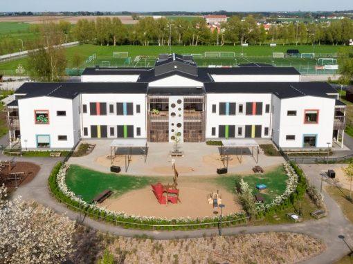 Nybyggnad av förskola i Löddeköpinge