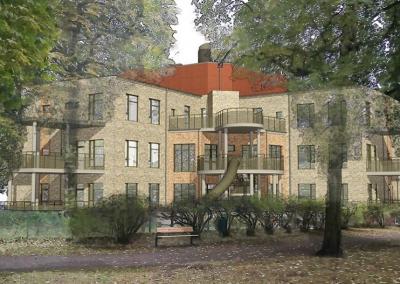 Ellstorps förskola, Nybyggnad av förskola i Malmö