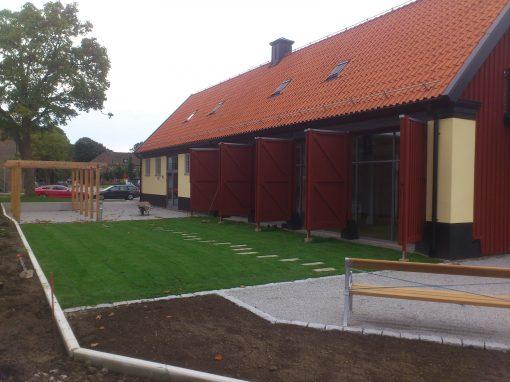 Solfångaren, om och tillbyggnad av församlingshem åt Maria församling, Helsingborg