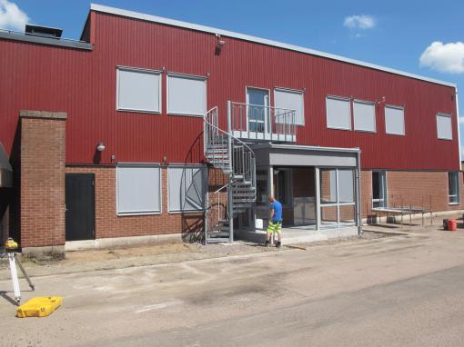Brandorama, Om- och tillbyggnad av utbildningslokaler, Helsingborg