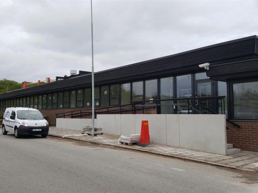 Elektrokoppar, ombyggnad av kontor, Helsingborg
