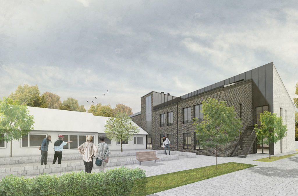 Solhem, Om- och tillbyggnad av äldreboende i Genarp, Lund