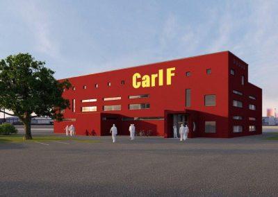 Carl F, nybyggnad av kontor, verkstad, förråd och miljöhus mm, Malmö