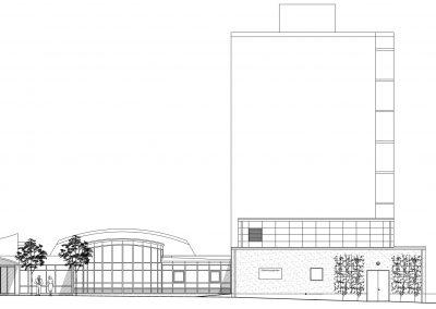 Södertorpsgården, Om- och tillbyggnad av kök, matsal och miljöhus, Malmö