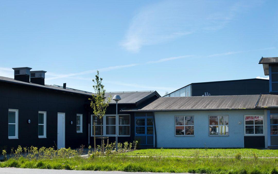 Hemvårdens hus, om- och tillbyggnad av kontor och personallokaler åt hemvården i Höganäs