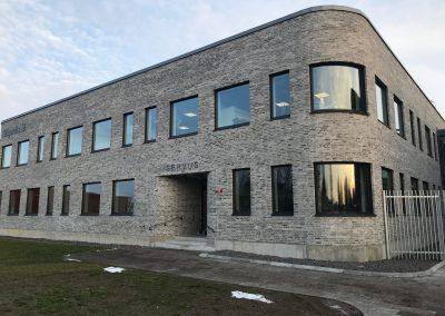 Kontor åt Höganäs Sweden AB, Nybyggnad av kontor, Höganäs