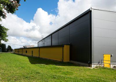 Toftahallen, Nybyggnad av idrottshall i Ödåkra, Helsingborg