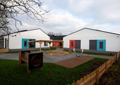 Lackalänga förskola, Nybyggnad av förskola i Kävlinge