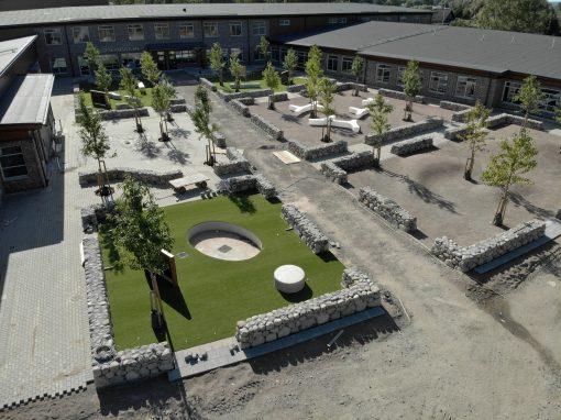 Flexibel skola, Nybyggnad av grund-skola i Klippan