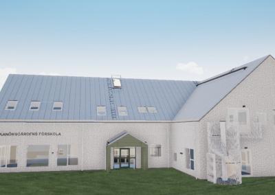 Skanörsgården tillbyggnad av förskola